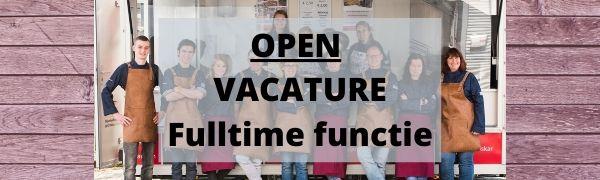 open vacature fulltime
